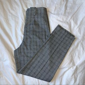 grey plaid Le Chateau women's pants